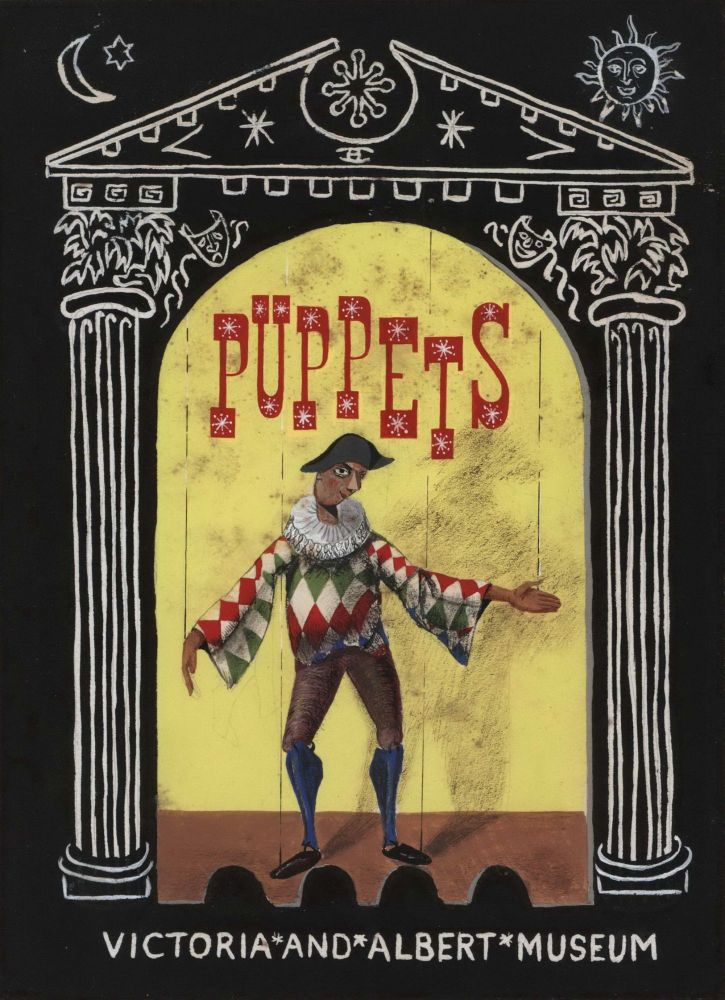 Puppets. Victoria And Albert Museum. Lewis Morley, Brit./Aust.