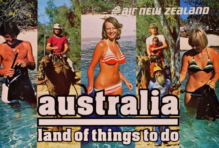 Australia. Land Of Things To Do. Air New Zealand