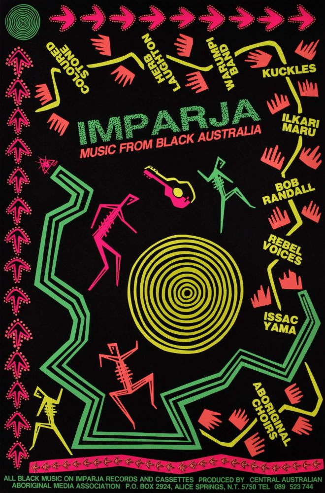 Imparja. Music From Black Australia. Redback Graphix, c. Aust.
