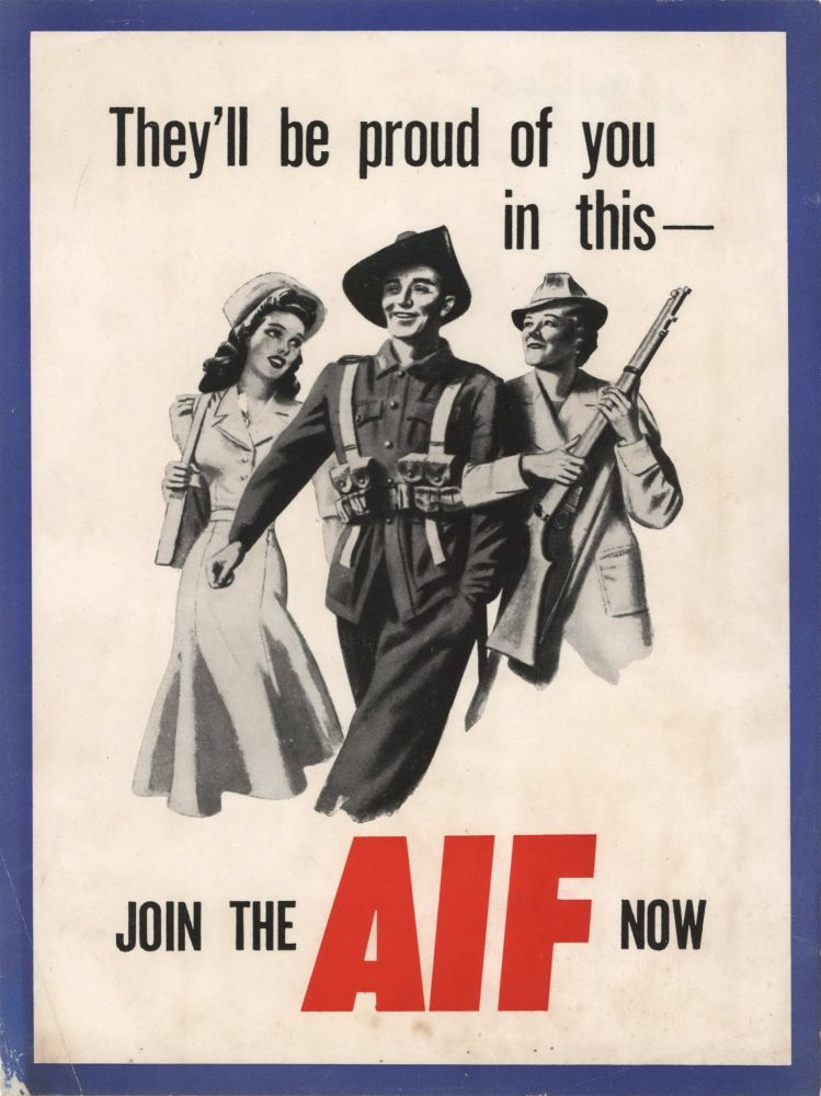 They'll Be Proud Of You In This. Join The AIF Now