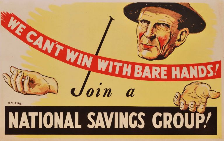 We Can't Win With Bare Hands. Join A National Savings Group!