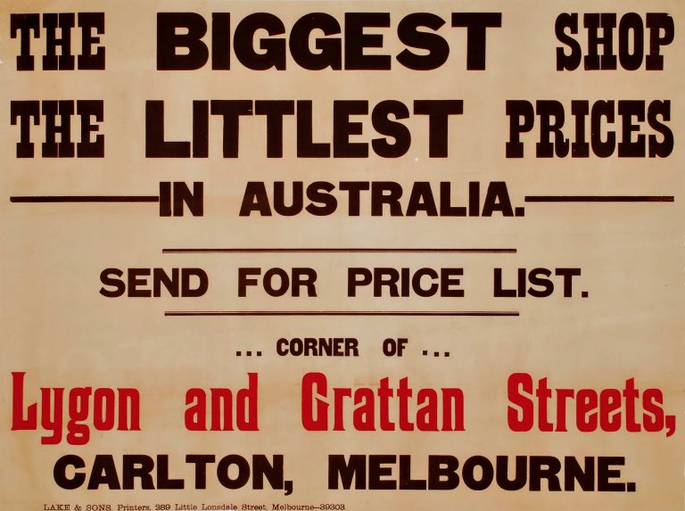 The Biggest Shop. The Littlest Prices In Australia [Bosari Emporium]