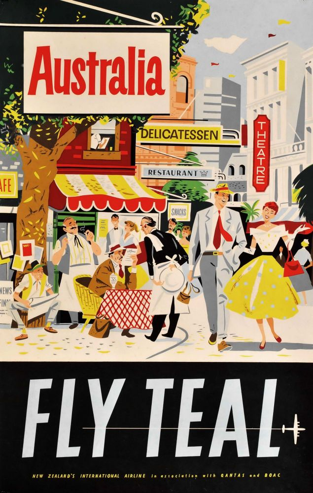 Australia. Fly TEAL [Tasman Empire Airways Limited]