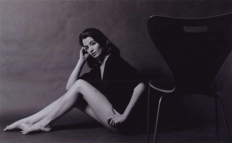 Christine Keeler Seated With Chair. Lewis Morley, Brit./Aust.