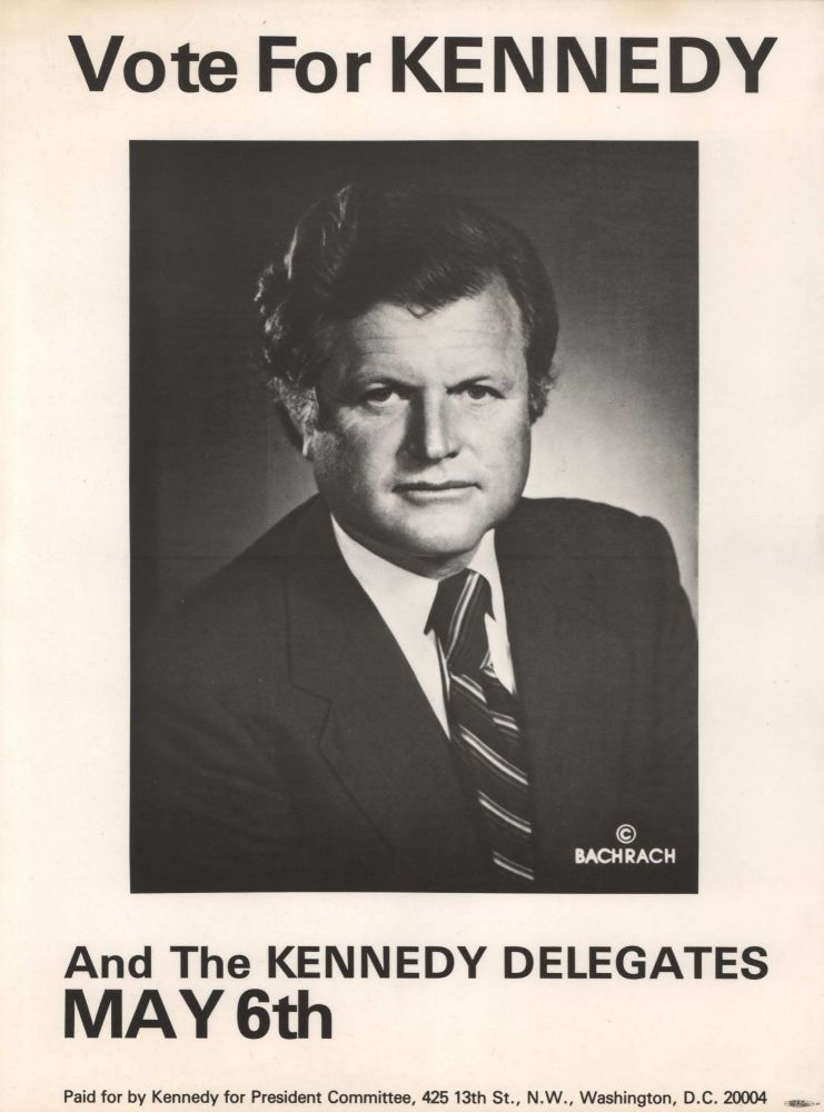 Vote For Kennedy [Ted]