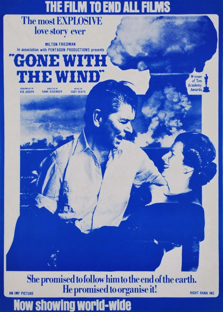 """The Most Explosive Love Story Ever. """"Gone With The Wind"""" [Ronald Reagan And Margaret Thatcher]"""