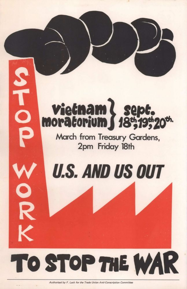 U.S. And Us Out. Stop Work To Stop The War