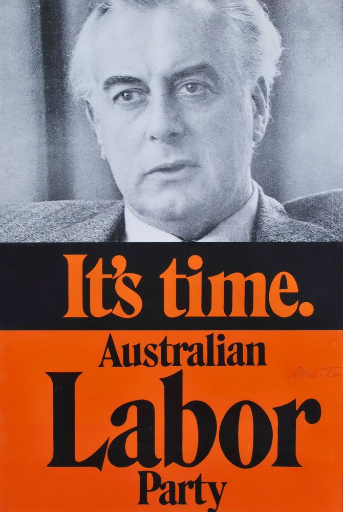 It's Time. Australian Labor Party