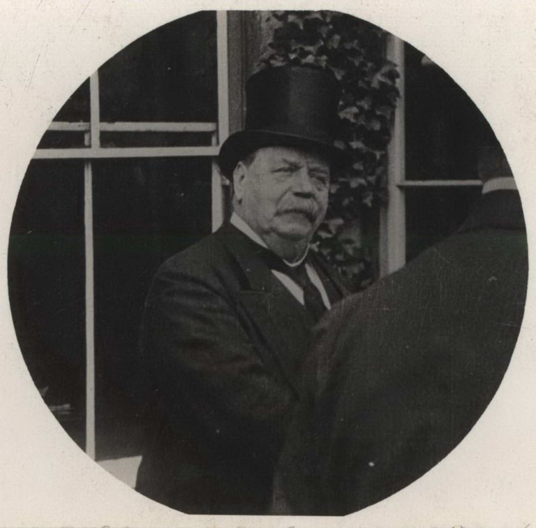 Sir George H. Reid. First High Commissioner Of The Commonwealth In London and [Prime Minister George Reid]