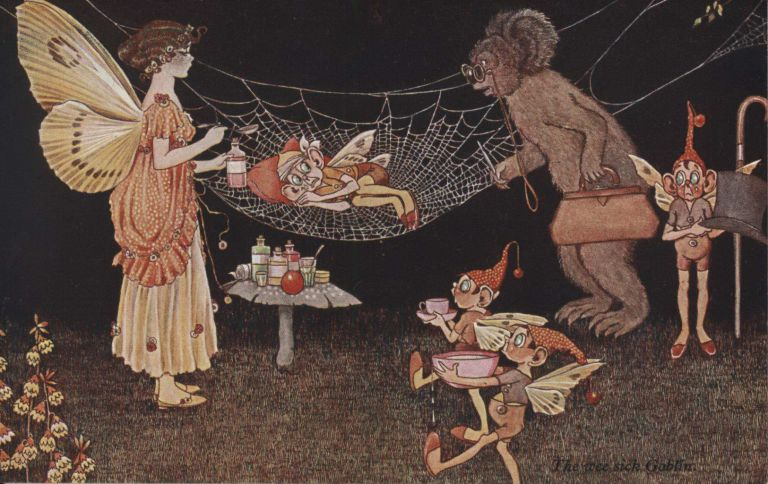 Collection Of 8 Sets Of Postcards Based On Illustrations From Fairy Books. Ida Rentoul Outhwaite, Aust.