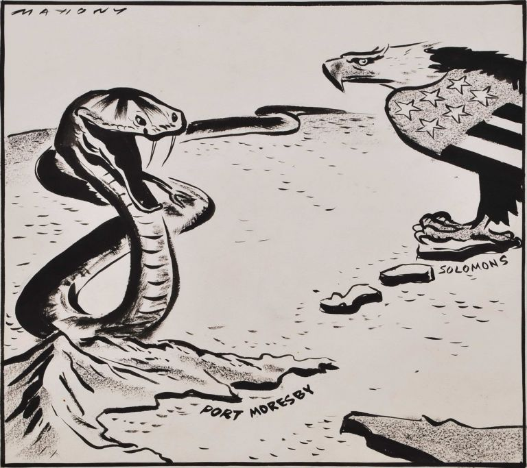 Too Soon To Crow [Solomon Islands And New Guinea Campaign, WWII]. Will Mahony, Aust.