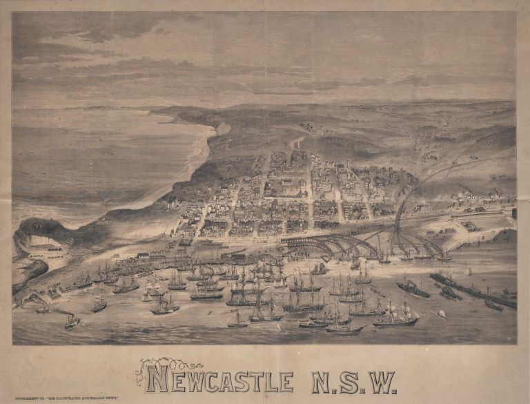 Newcastle, NSW. After A. C. Cooke, Aust.