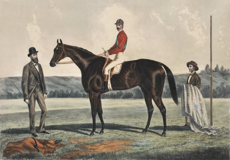 Pride Of The Hills [Race Horse]. Frederick Woodhouse Jr, Aust.