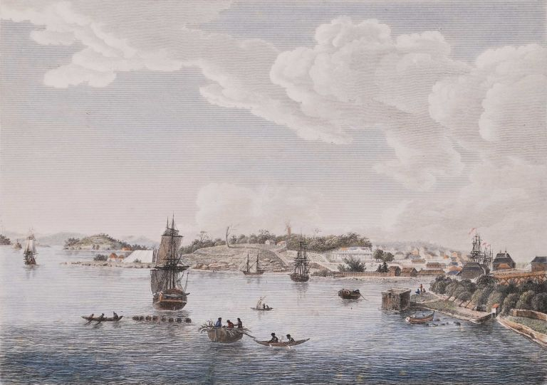 Nouvelle Hollande: Nouvelle Galles Du Sud [Sydney Cove]. After Charles Alexander Lesueur, French.