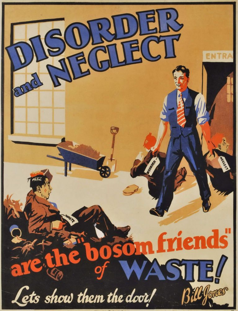 """Disorder And Neglect Are The """"Bosom Friends"""" Of Waste! Let's Show Them The Door!"""