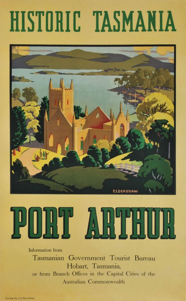 Historic Tasmania, Port Arthur. John Eldershaw, Aust.
