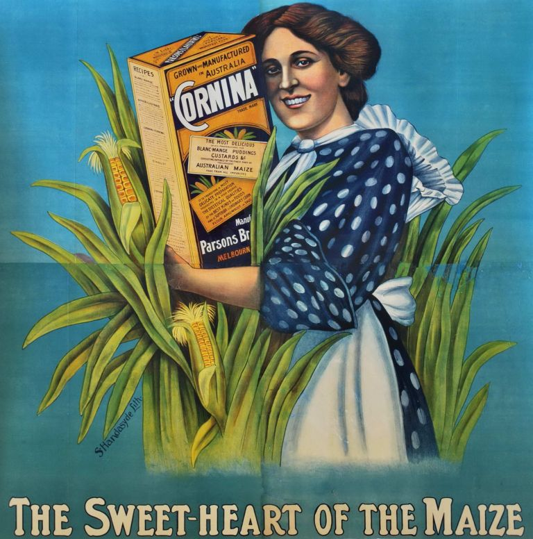 """Cornina."" The Sweet-Heart Of The Maize"