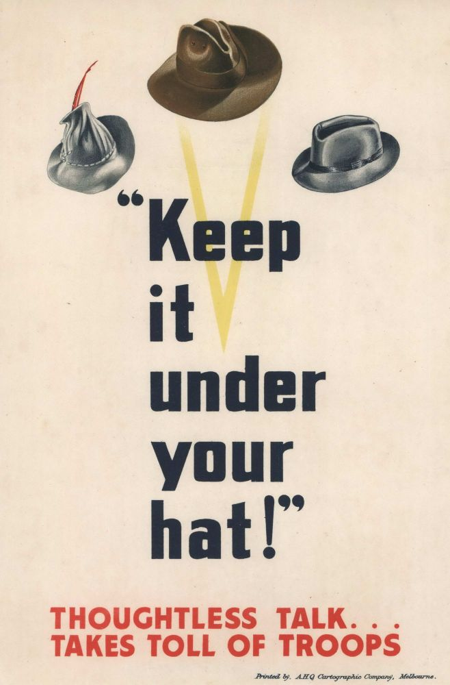"""Keep It Under Your Hat!"""