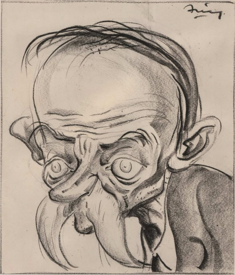 [Caricatures]. George Finey, Aust.