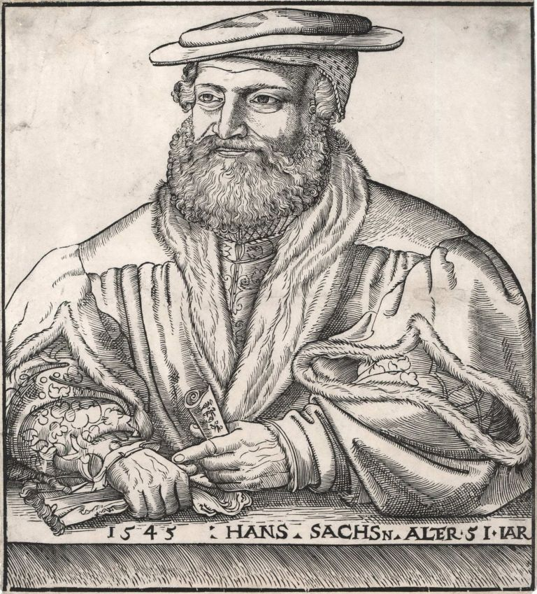 Hans Sachs Alter 51 Jar [51 Years Old], Lucas Cranach the Elder, c. German.