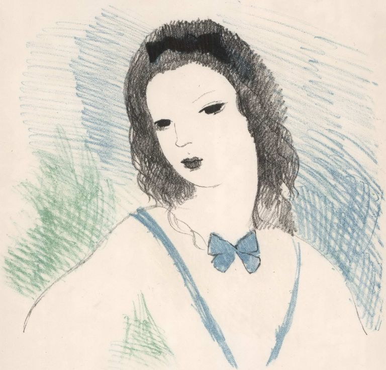 Alice [In Wonderland]. Marie Laurencin, French.