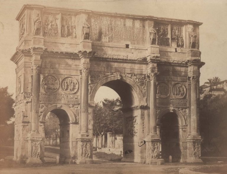 Arch Of Constantine, Rome, Italy. Robert Macpherson, Brit.
