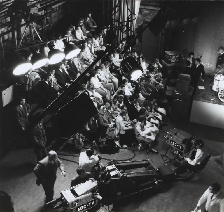 [Live Audience In ABC Studios]. Max Dupain, Aust.