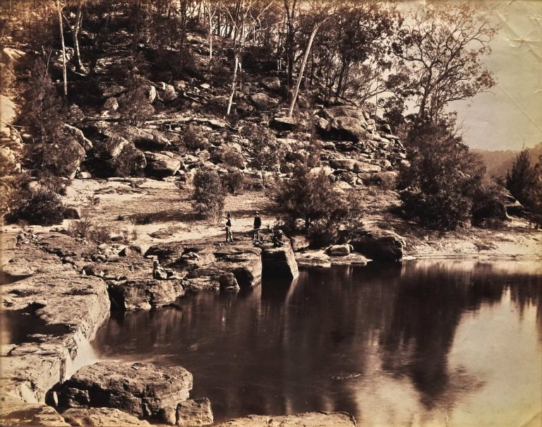On The Nepean [NSW]. Charles Bayliss, Australian.