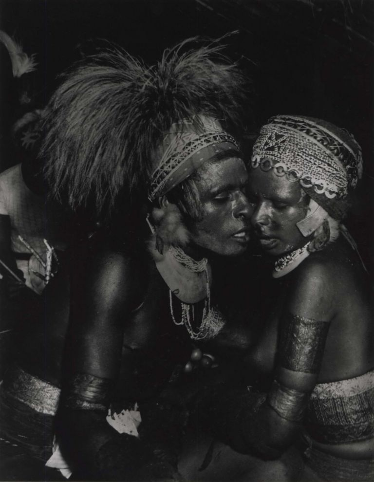 Natives, Kanana Ceremony, New Guinea. Laurence Le Guay, Aust.