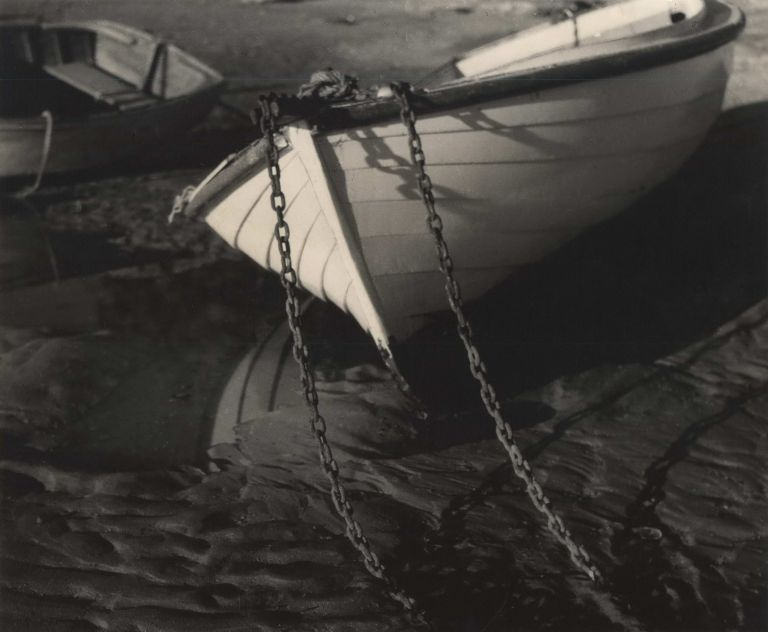 Tethered [Dinghy On Beach]. Henri Mallard, Aust.
