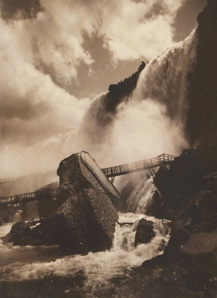 Niagara Falls [Cave Of The Winds]. George Barker, Canadian/Amer.