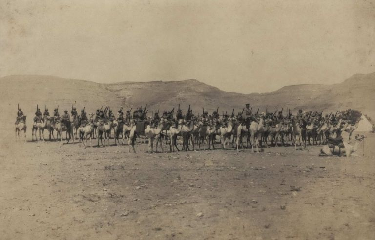 Australian Imperial Camel Corps, No. 2 Company, Sollum, Western Frontier, Egypt [WWI]