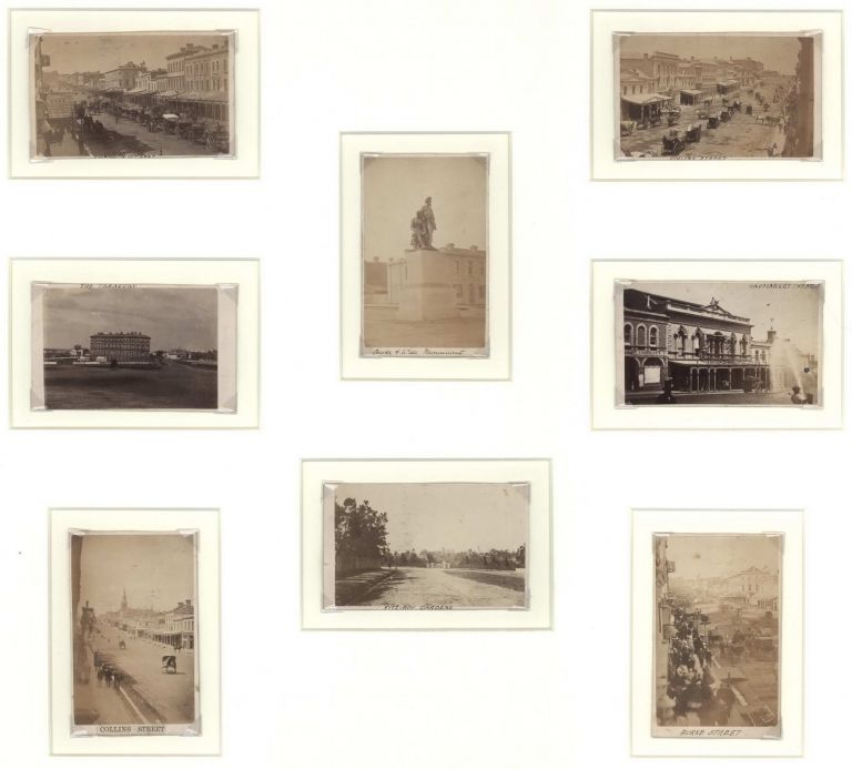 [Views Of Melbourne]. Melbourne, Sydney Photographic Co, active c. Aust.