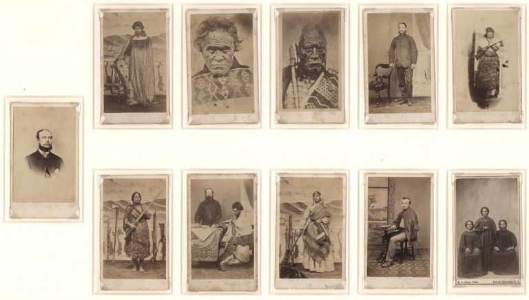 [Personages Of Key Figures In Maori Wars, NZ]