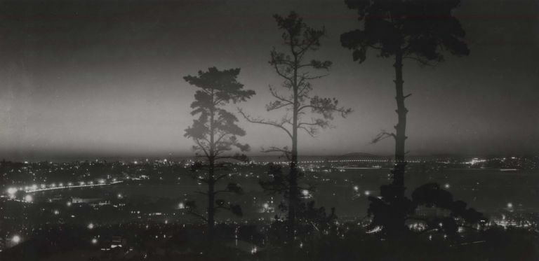 [View Of Sydney Harbour From Rose Bay, NSW]. Max Dupain, Aust.
