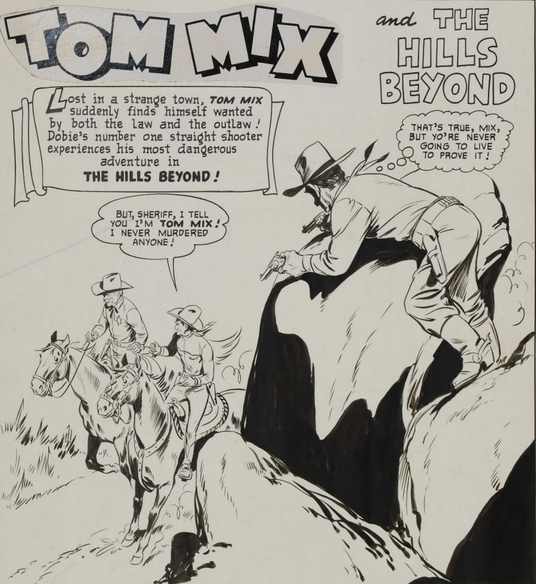 Tom Mix And The Hills Beyond