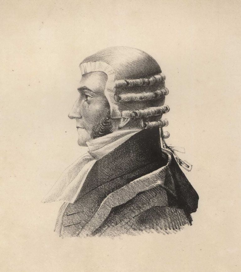 [Portrait Of John Hubert Plunkett, The Attorney General]. Charles Rodius, British/Aust.
