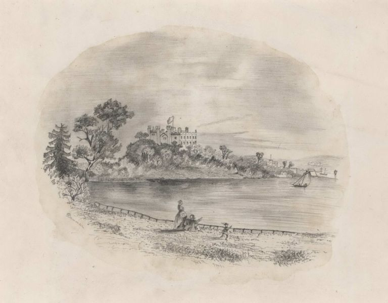 [Government House From The Botanical Gardens, Sydney].  After  F. C. Terry, Aust.