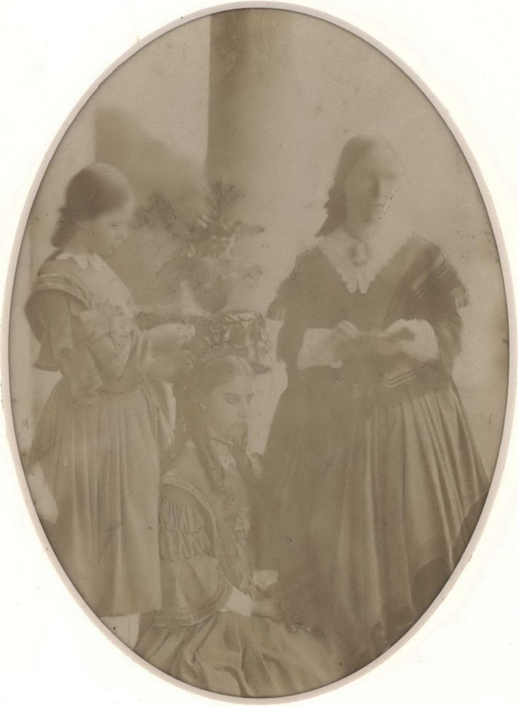 Photograph  and  Poem From Eliza Henrietta Dumaresq, Youngest Daughter Of William John Dumaresq Esquire