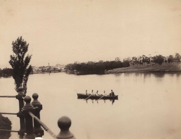 [Torrens River, Adelaide, South Australia]. Captain Sweet, British/Aust.