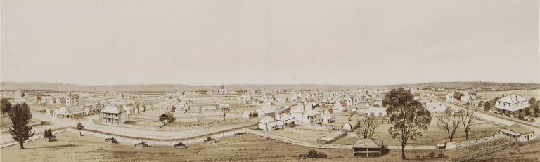 Panoramic View Of Liverpool Shewing [Sic] Moorbank Estate Photographed From Church Tower [NSW]
