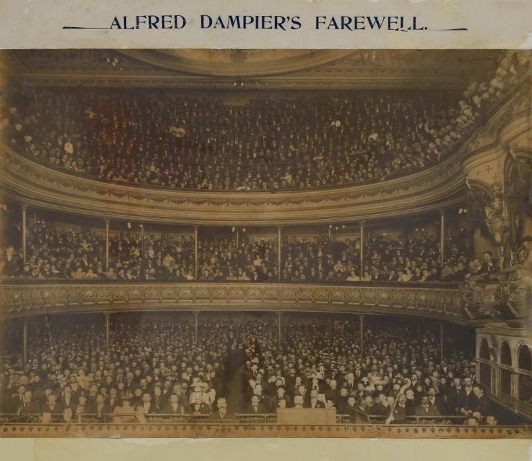 Alfred Dampier's Farewell [Lyceum Theatre]. Kerry, Co, active Aust.