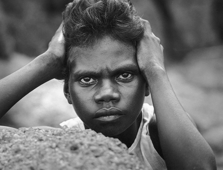 Tiwi Girl, Bathurst Island, NT. Heide Smith, b.1937 German/Australian.