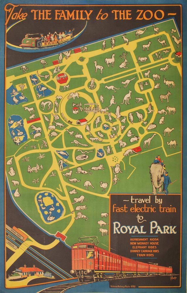 Take The Family To The Zoo – Travel By Fast Electric Train To Royal Park