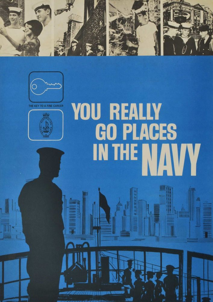 You Really Go Places In The Navy
