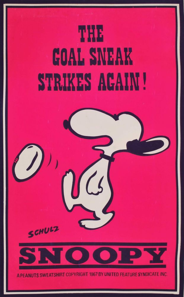 Snoopy. Charles Schulz, Amer.
