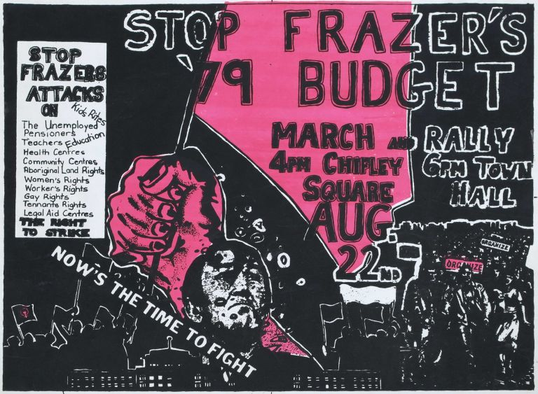Stop Frazer's [Sic] '79 Budget. Now's The Time To Fight