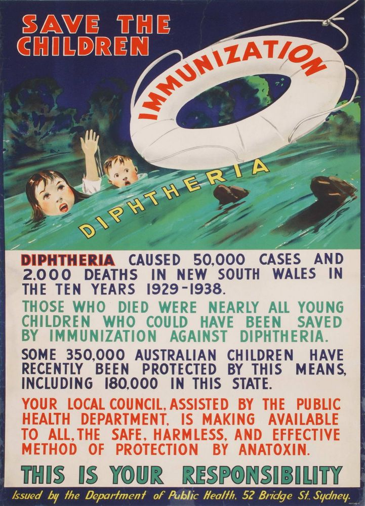 Save The Children. Diphtheria Immunization
