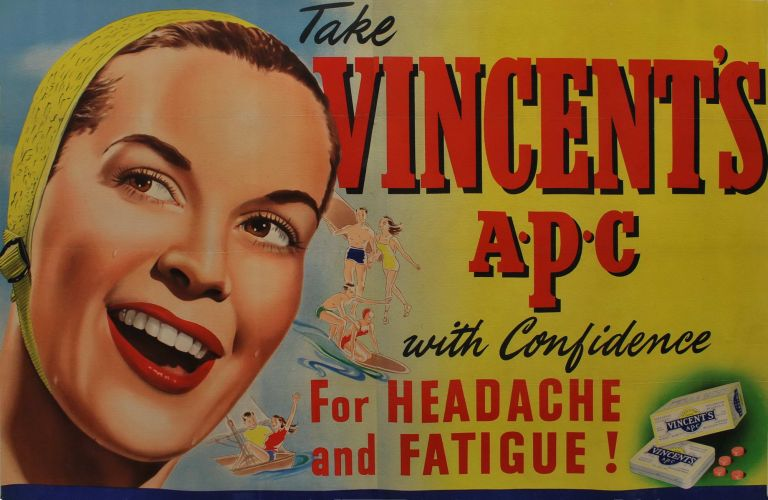 Take Vincent's APC With Confidence For Headache And Fatigue!