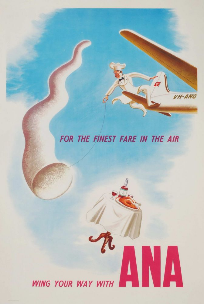 For The Finest Fare In The Air, Wing Your Way With ANA